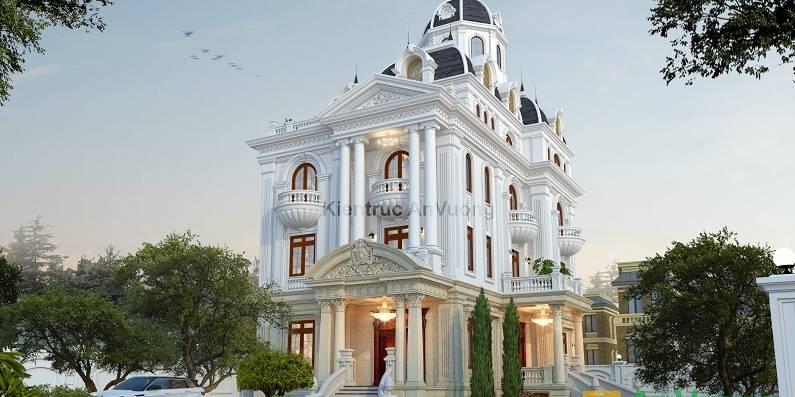Biệt thự cổ điển ở Bắc Ninh